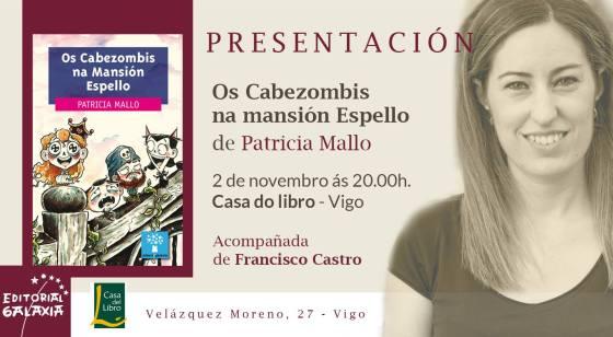 Presentación Os Cabezombis na Casa Do Libro de Vigo